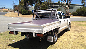Tray Backs<br>For Vehicles